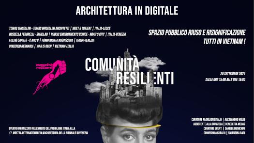 Convegno al Padiglione Italia - Biennale di Architettura 2021