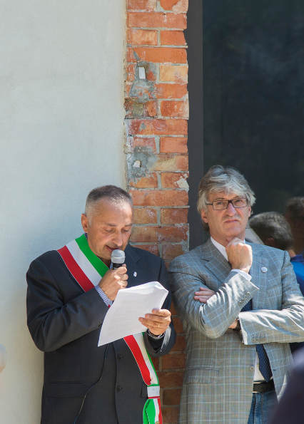 Il Presidente della Regione Renzo Tondo con il SIndaco Luigi Marcon al MGGM