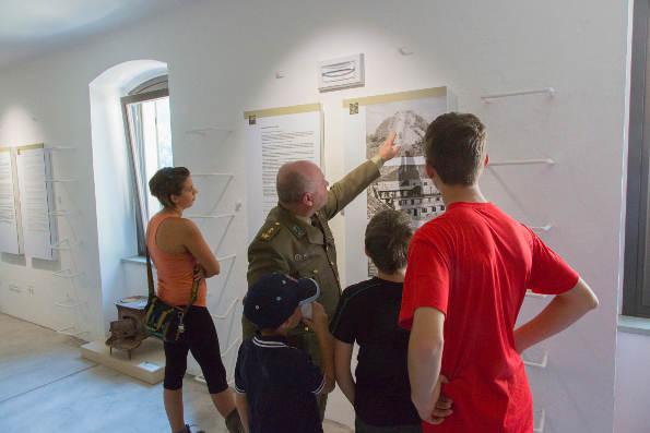 C and C, apertura Museo Museo della Grande Guerra in Montagna, Chiusaforte (UD)