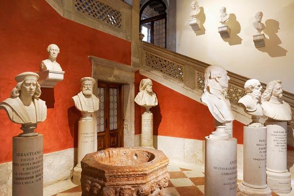 Studio C and C | Nuova sistemazione del Panteon Veneto in Palazzo Loredan
