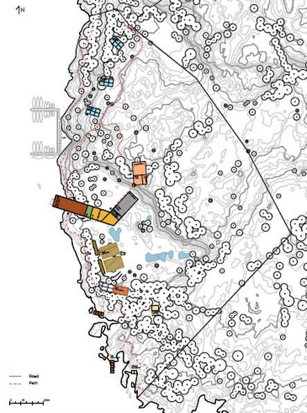 Børgoy Fiord Resort, Master plan | C and C architettura ingegneria