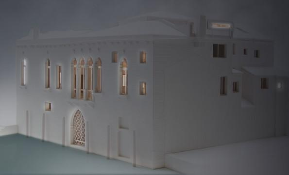 Palazzetto Bragora - model | Studio C and C