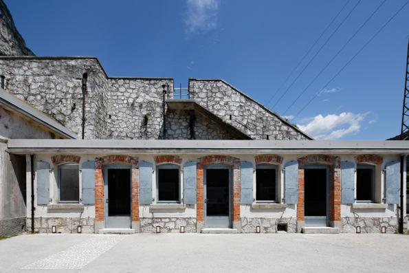 C and C Studio | Forte Col Badin, Chiusaforte (UD) – Restoration
