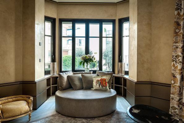 Montecarlo, casa privata, restauro, arredo (insieme a Charisma) | Studio C and C
