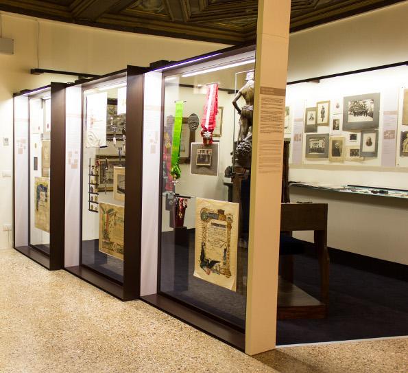 Studio C and C | Allestimento Sala Luigi Luzzatti, Istituto Veneto
