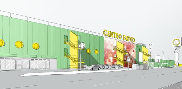 Giotto shopping centre, competition | Studio C and C