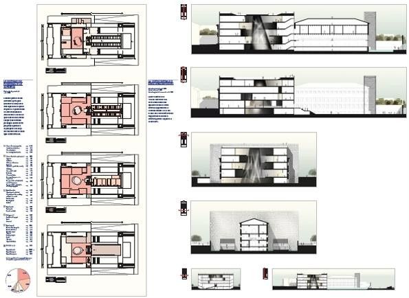 Studio C and C |Museo dell'Ebraismo in Italia e della Shoah-Progetto di Concorso