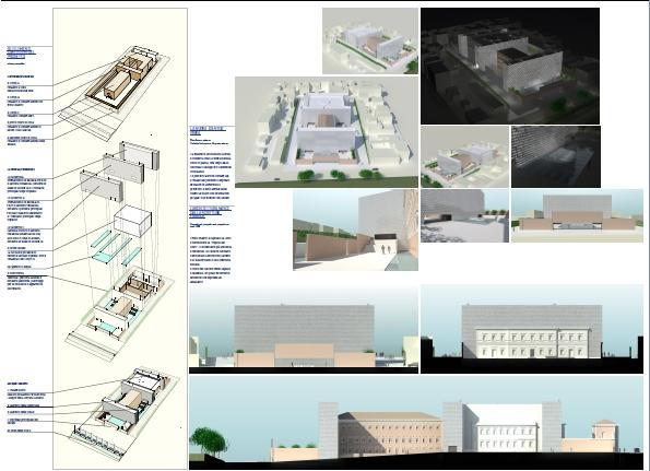 Studio C and C |Museum of Judaism in Italy and the Holocaust–Competition Project